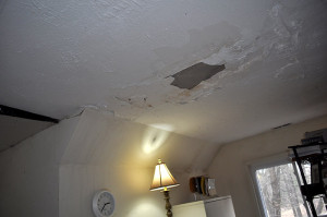 ceiling falling in from rain water - Copy (2)