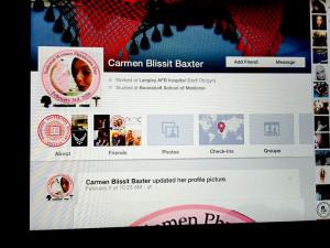 Dr. Carmen Baxter FB